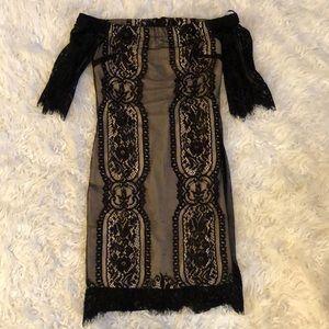 Lush Off The Shoulder Dress